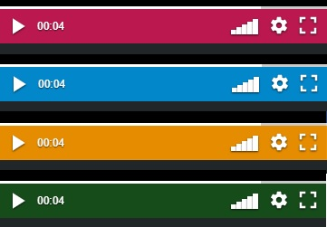 Control bar colours